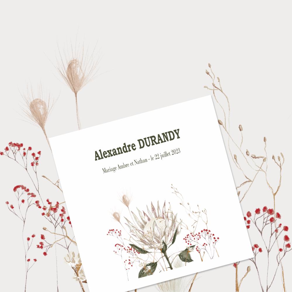 Marque-place | Protea