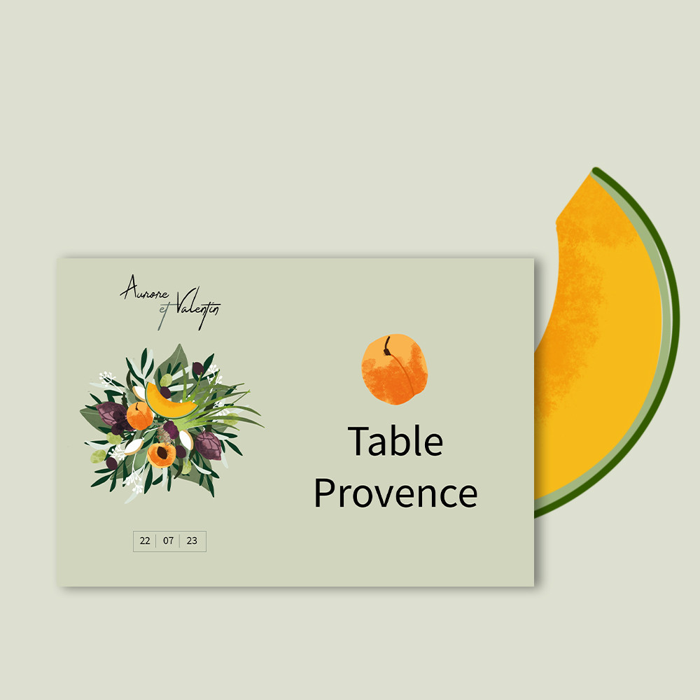 Marque-table | Provence