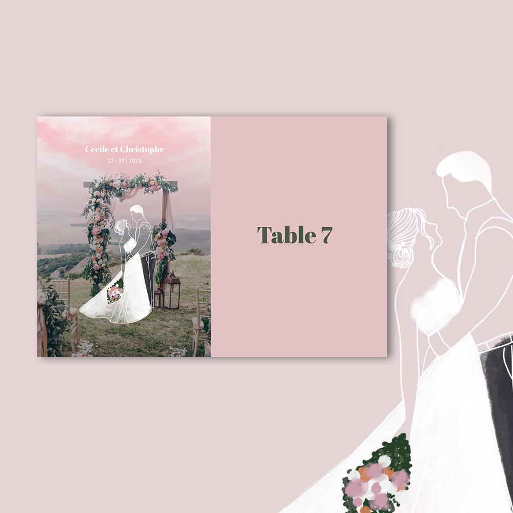 Marque-table | Arche