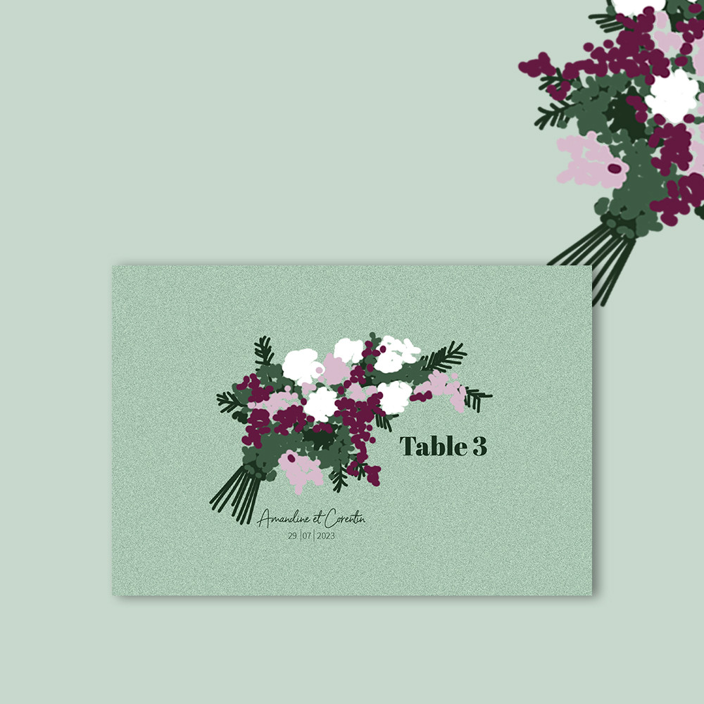Marque-table | Charmille