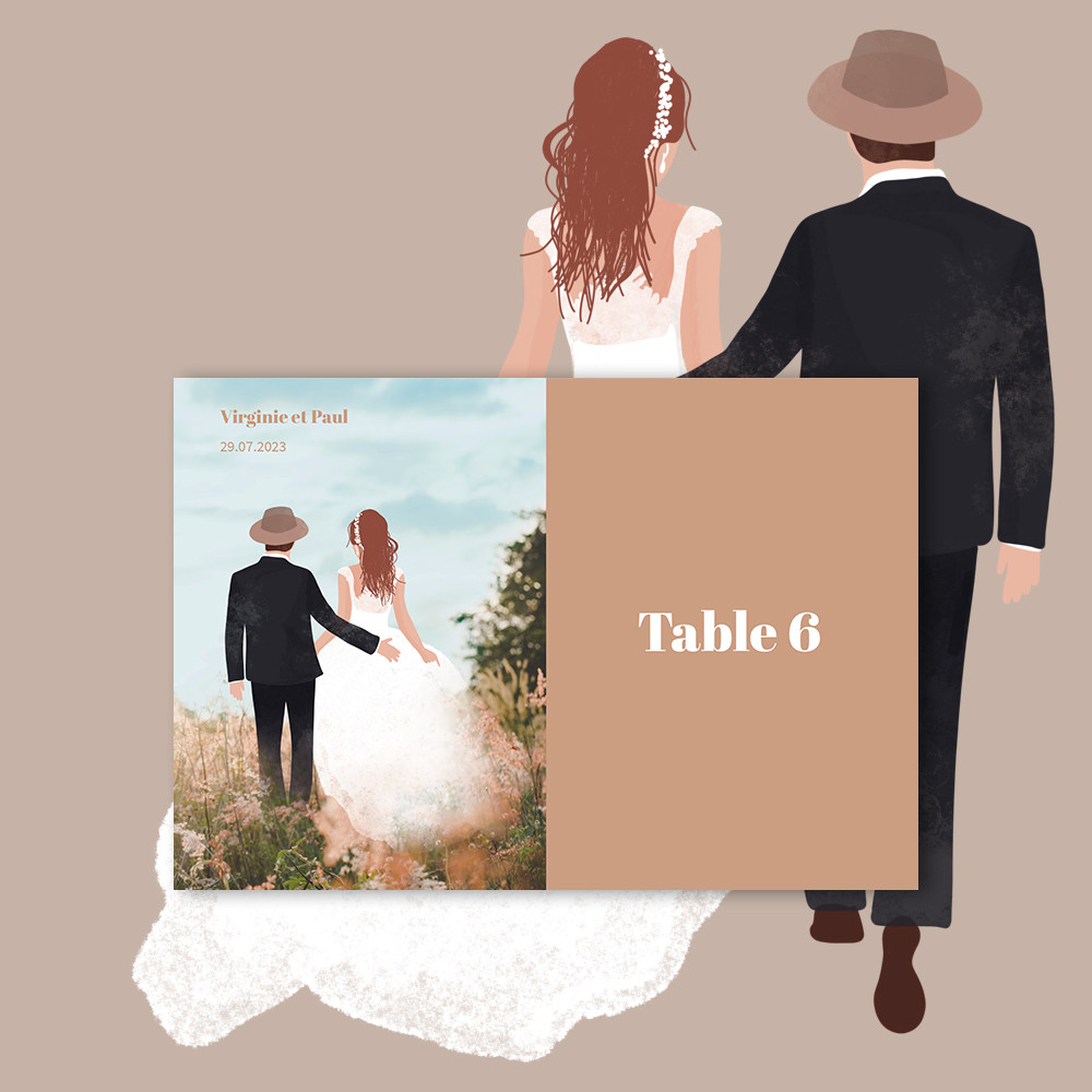 Marque-table | Flânerie