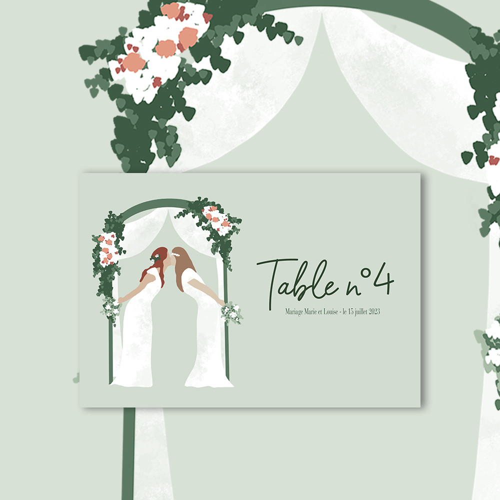 Table marker | To be a woman