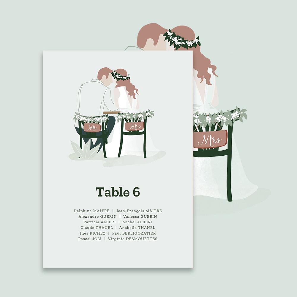 Plan de table | In the eyes...