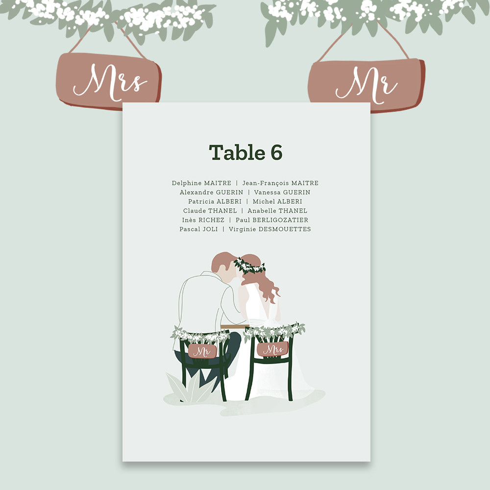 Table plan | In the eyes (2)