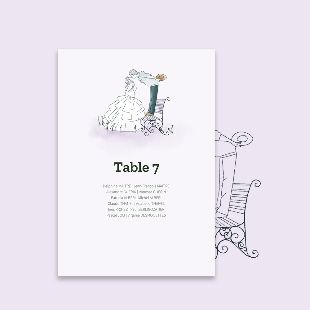 Table plan | Bagatelle