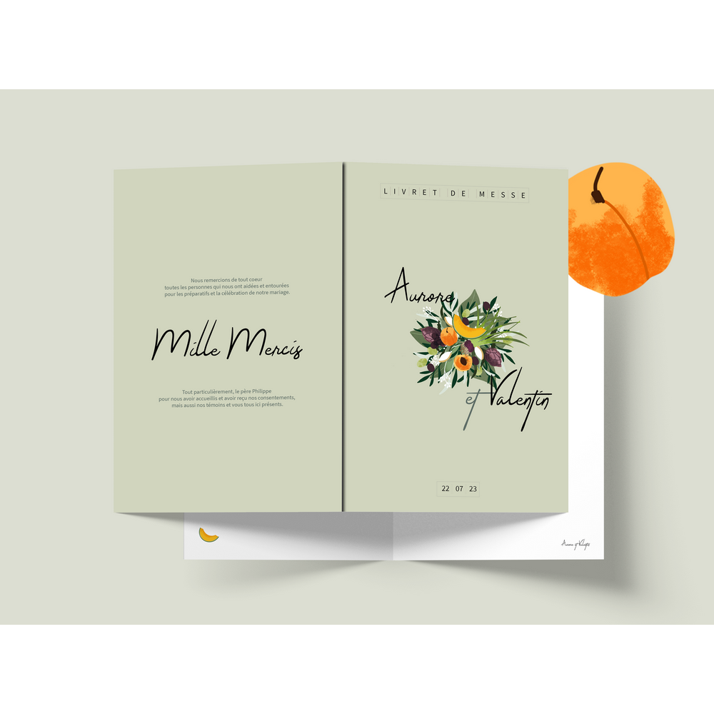 Mass booklet | Provence