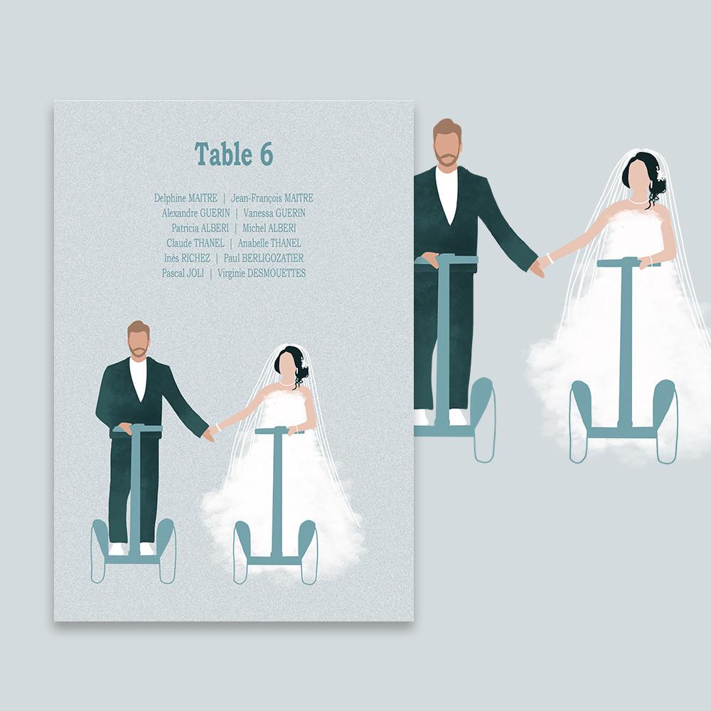 Table plan | Gyropode
