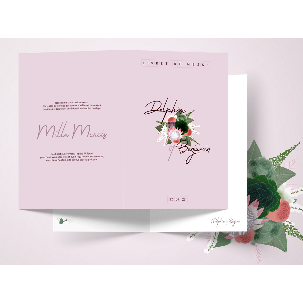Mass booklet | Succulentes