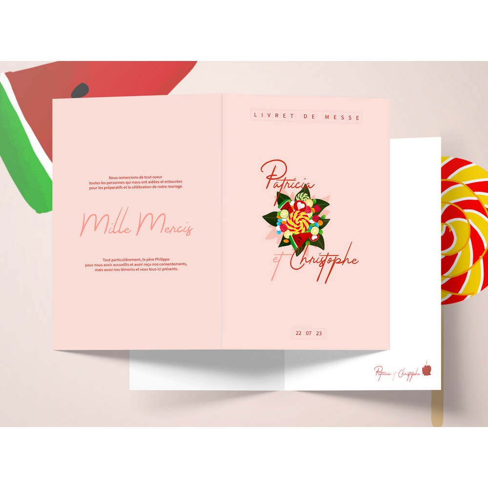 Mass booklet | Candy