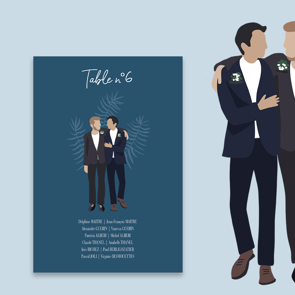 Table plan | To be a man (2)
