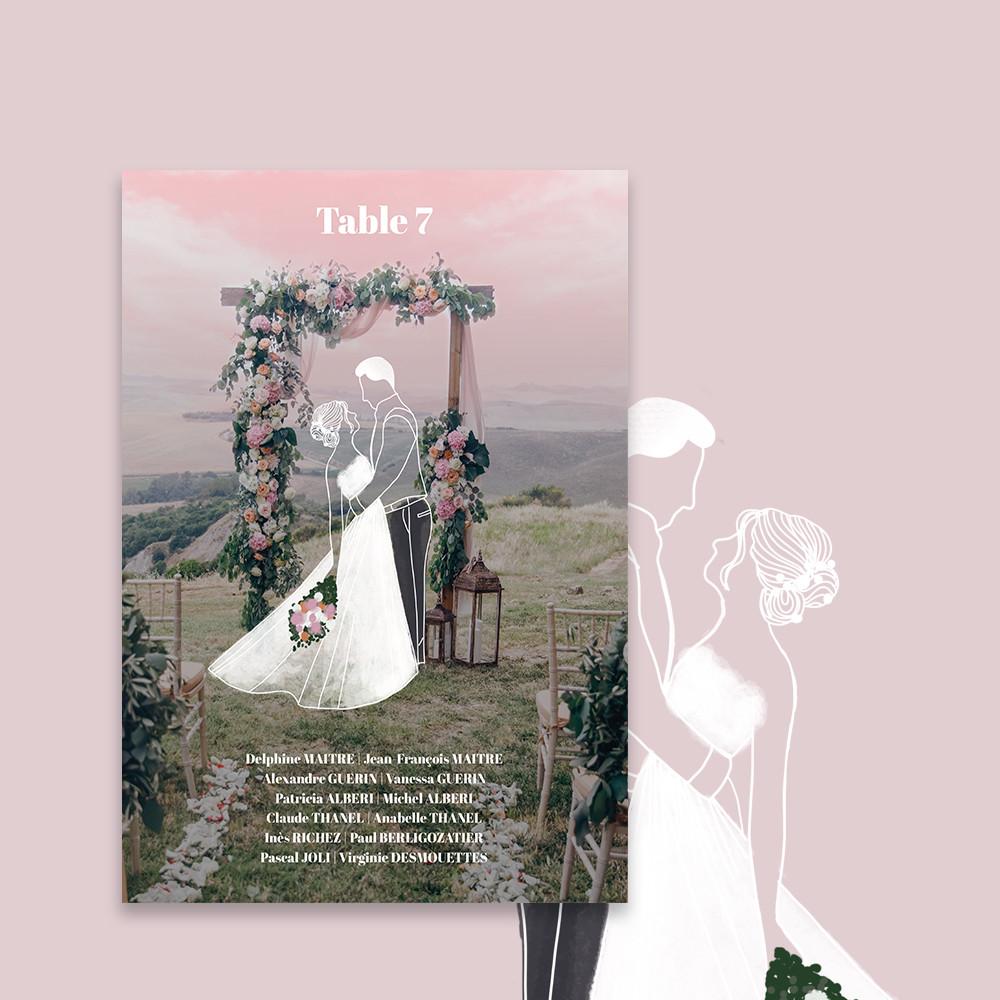 Table plan | Arche