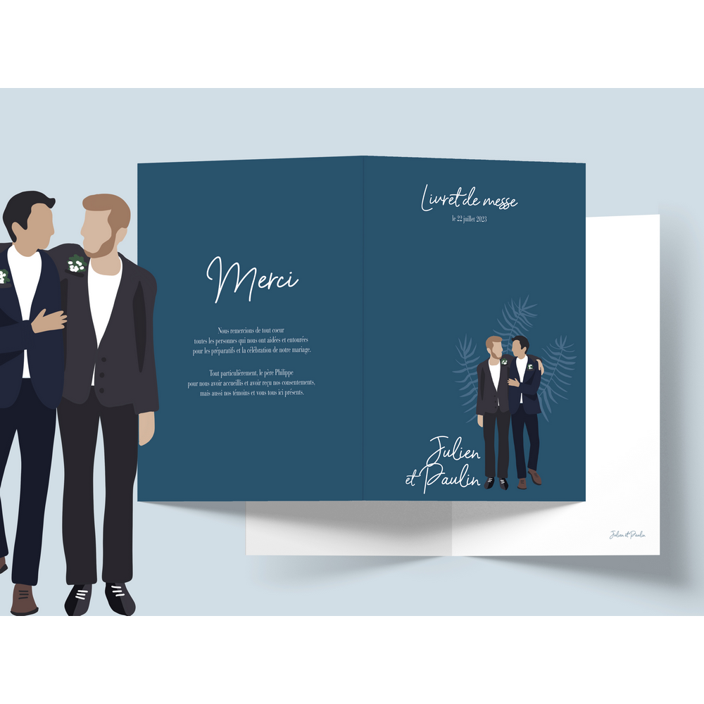 Mass booklet | To be a man (2)