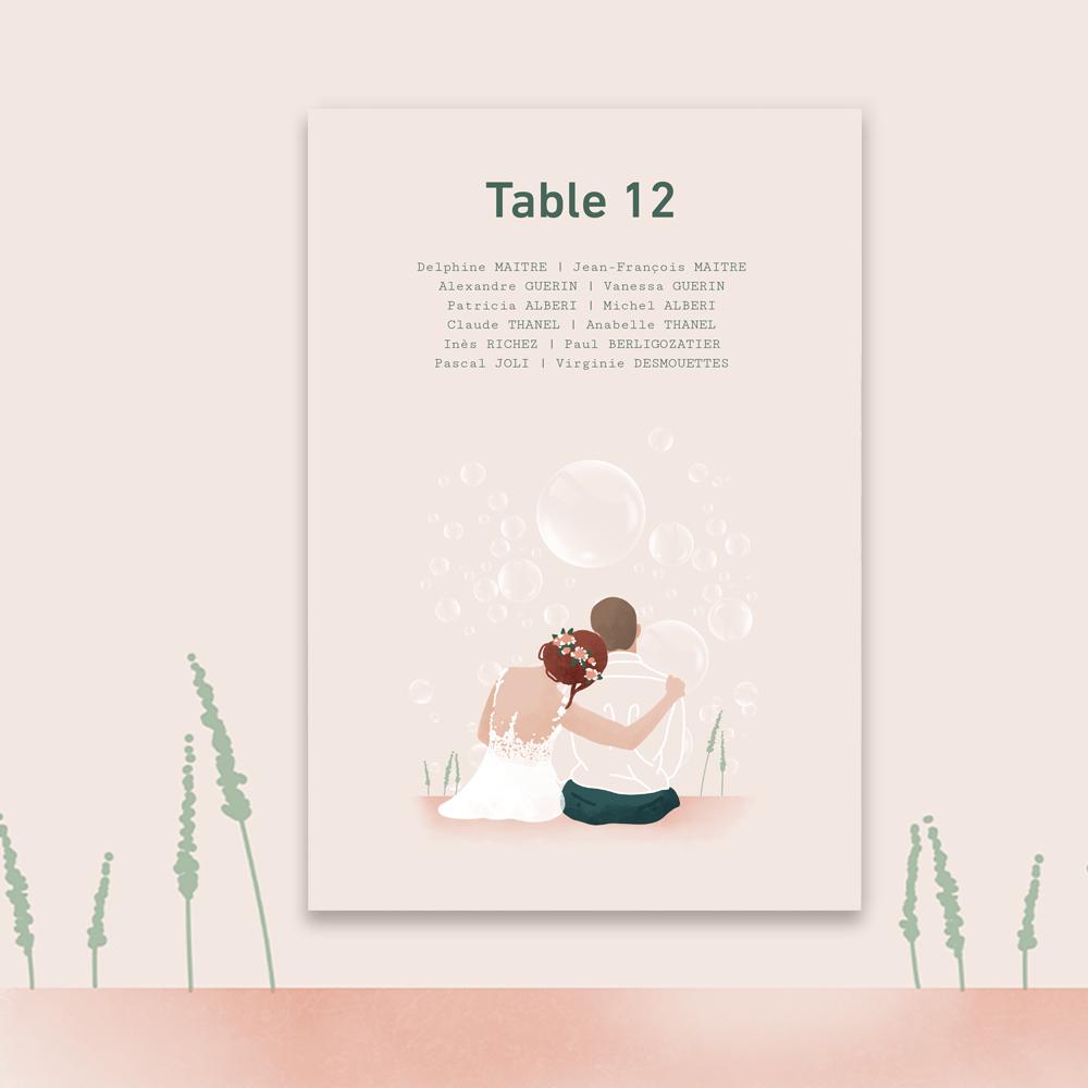 Table plan | Bubbles (2)