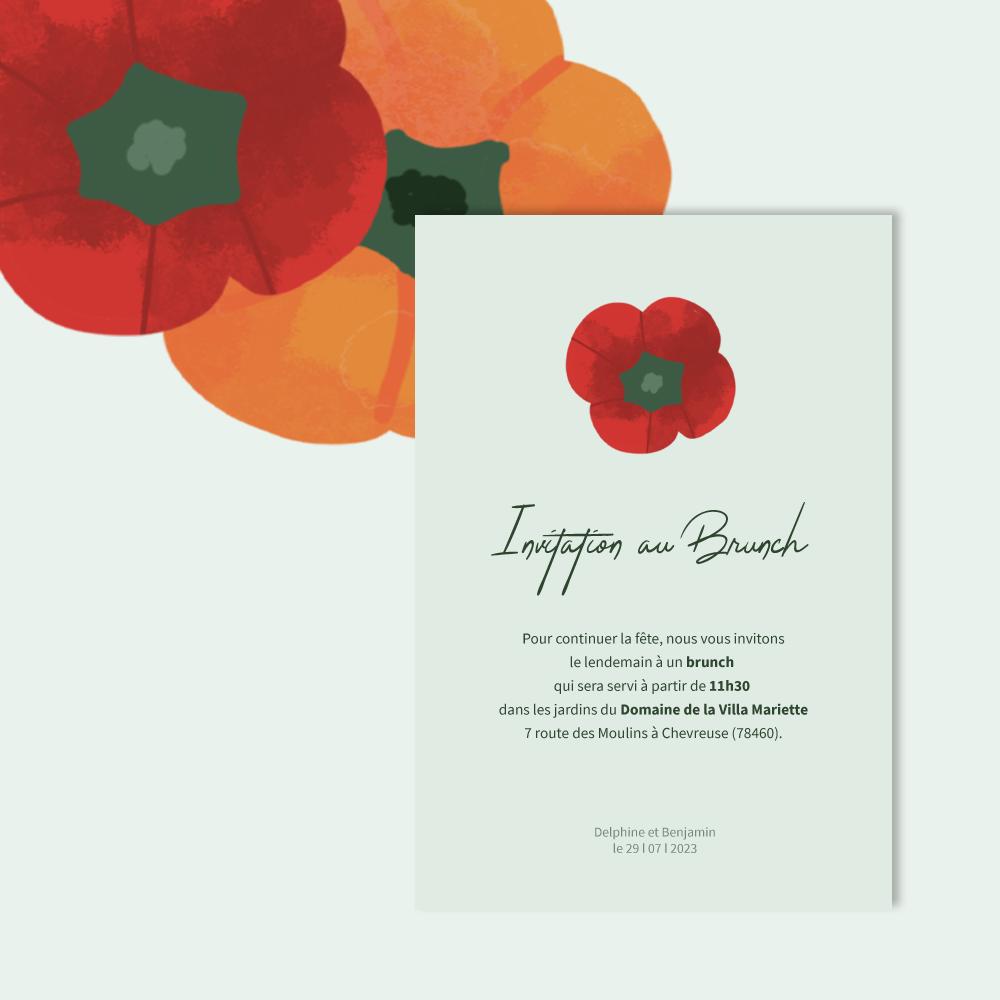 Invitation Brunch | Vegetables