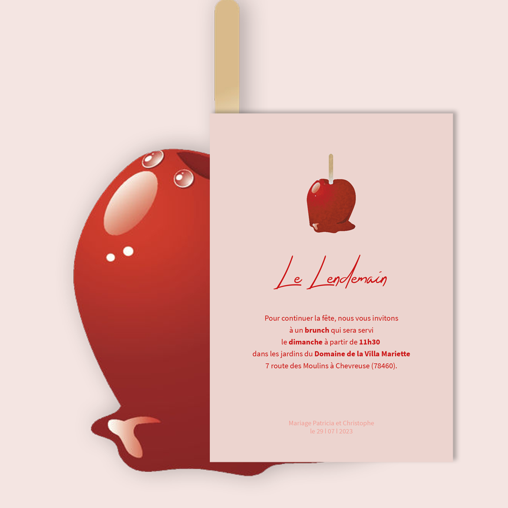 Invitation Brunch | Candy