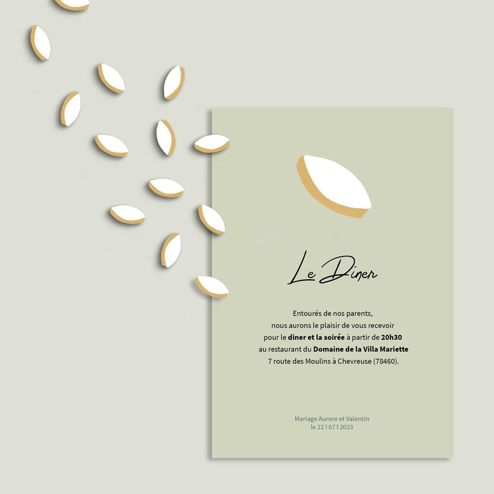 Invitation Diner | Provence