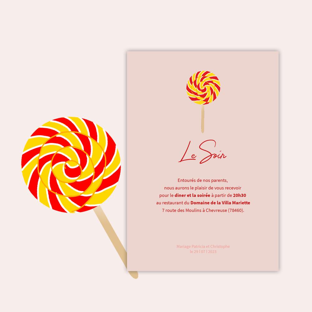Diner Invitation | Candy