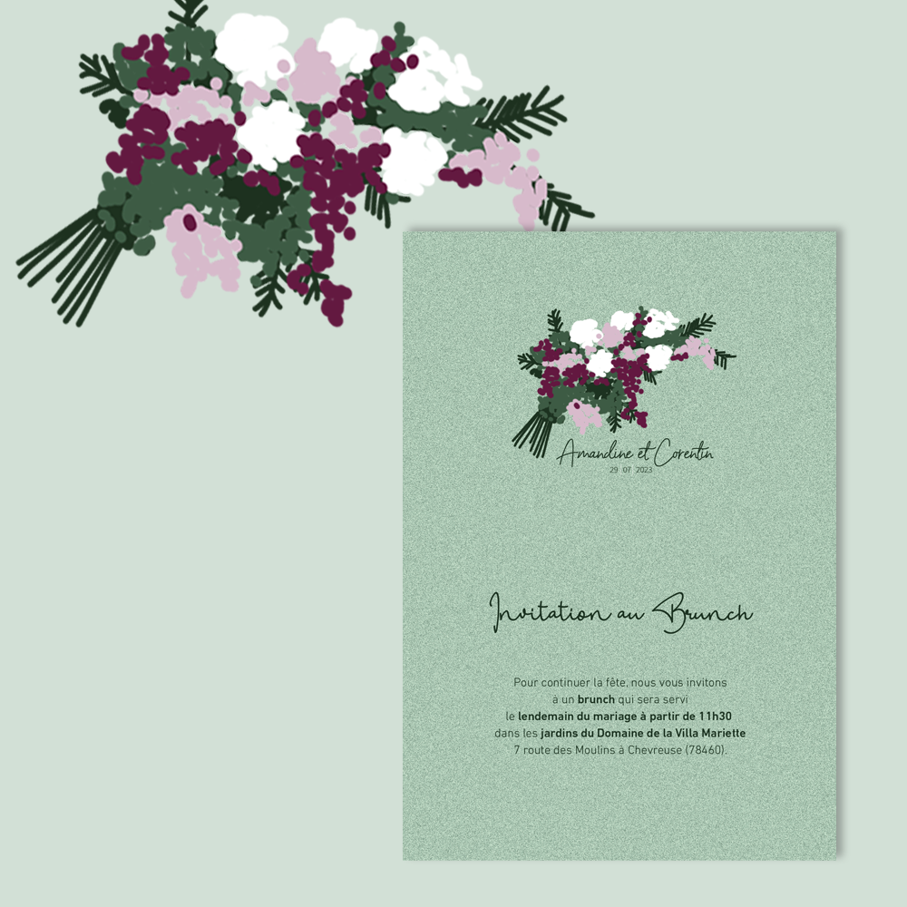 Invitation Brunch | Charmille