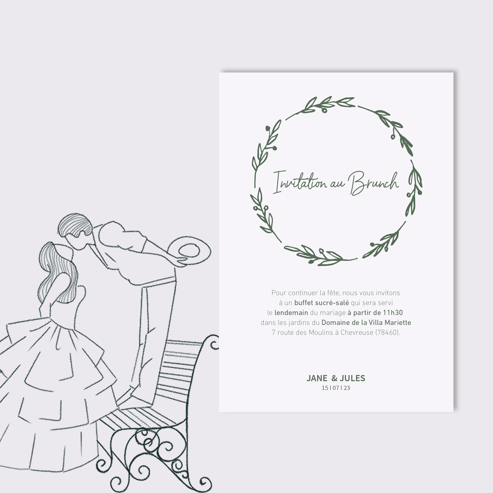 Brunch Invitation | Bagatelle