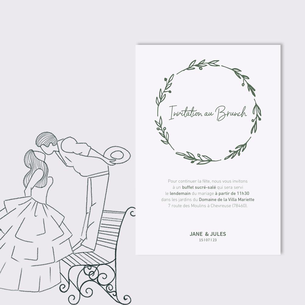 Invitation Brunch | Bagatelle