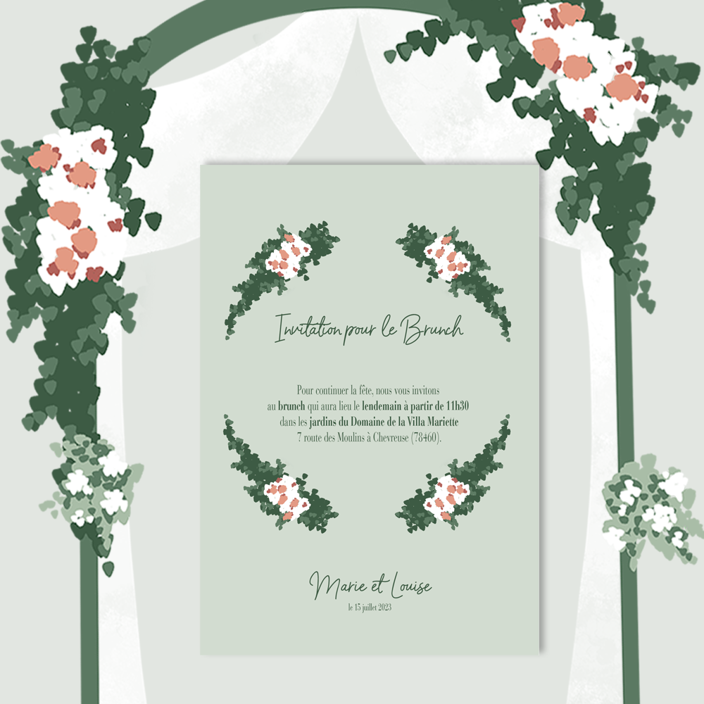 Brunch Invitation | To be a...