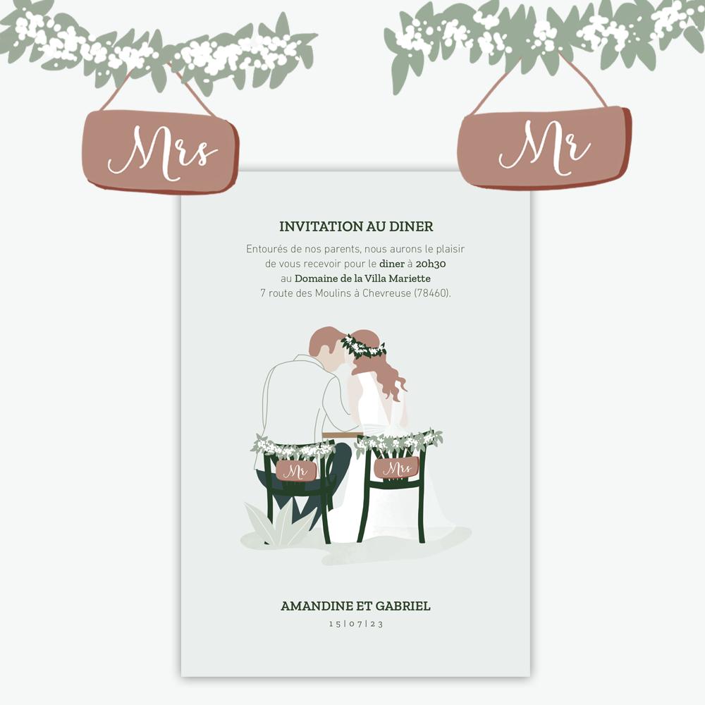 Diner Invitation | In the eyes