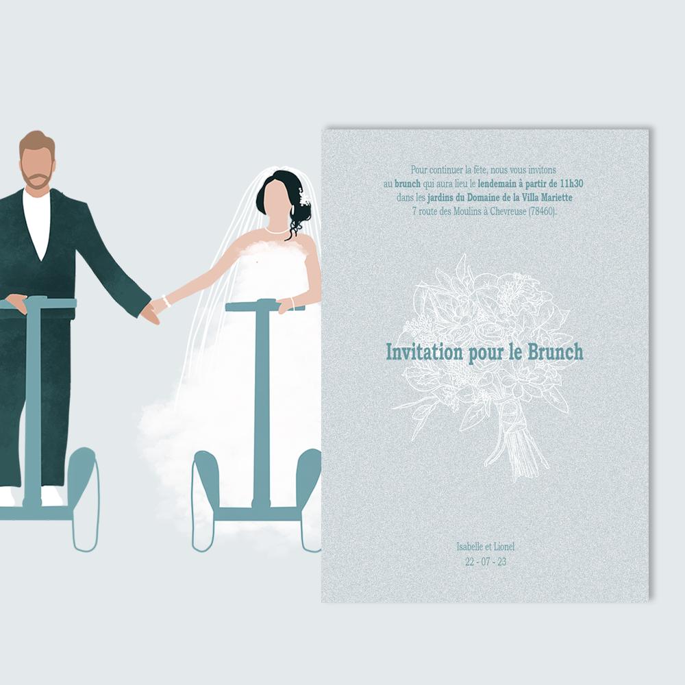 Brunch Invitation | Gyropode