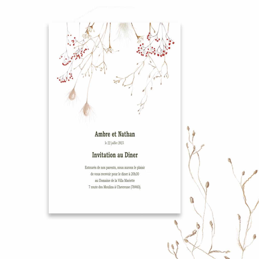 Invitation Diner | Protea