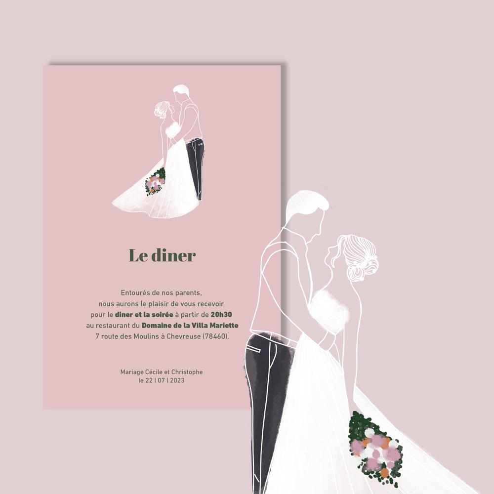 Invitation Diner | Arche (3)