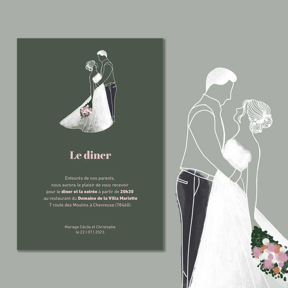 Invitation Diner | Arche (1)