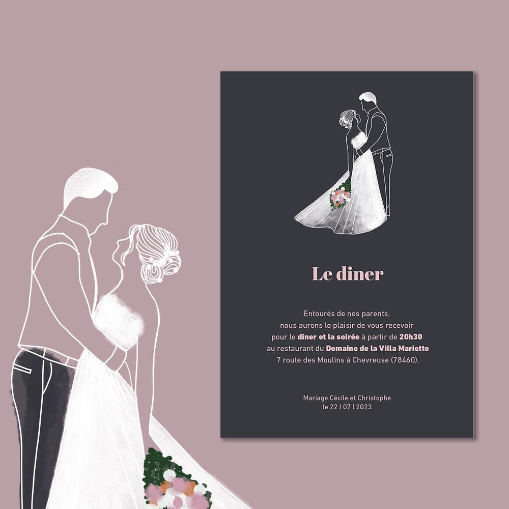 Invitation Diner | Arche (2)